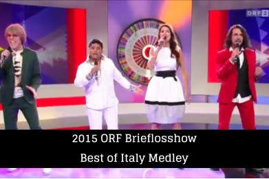 2015 ORF Brieflosshow Best of Italy Medley